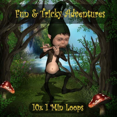 Fun and Tricky Adventures - 10x 1 Min Loops